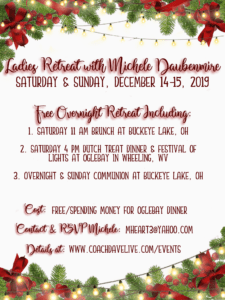 Ladies Retreat with Michele is FULL @ Blake's at Buckeye Lake | Thornville | Ohio | United States
