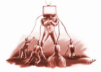 Americans Are Locked in the Media-Controlled Box