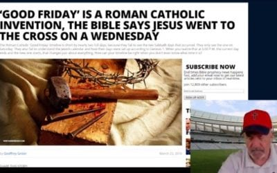 Was Good Friday on Wednesday?
