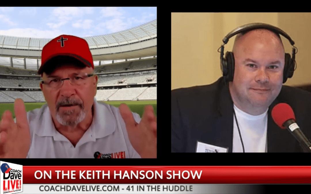 Coach on Keith Hanson's Show