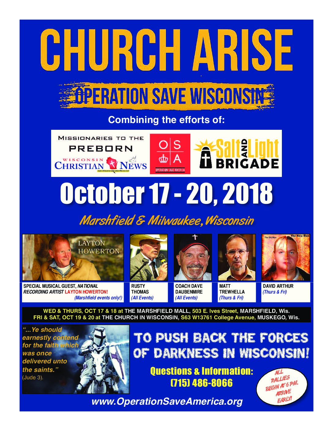 Earnestly Contending for the Faith – Milwaukee, WI