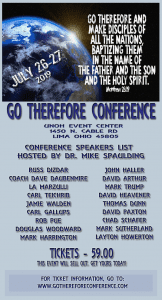 """Go Therefore"" Conference @ Lima, OH @ UNOH Event Center 