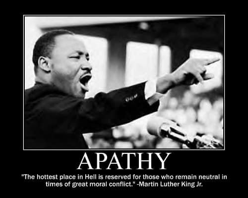 The Power of Apathy