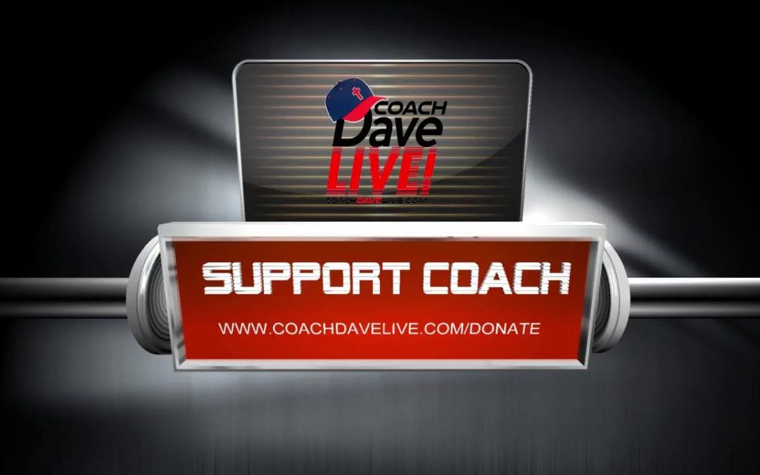 Never Backs Down | Coach Dave Live | 12.6.2019